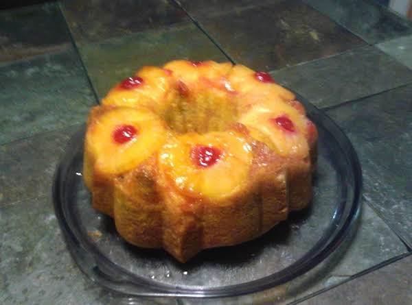 Pineapple Upside- Down Coconut Bundt Cake Recipe