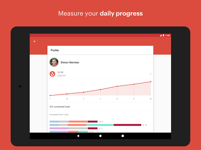 Screenshot 7 for Todoist's Android app'