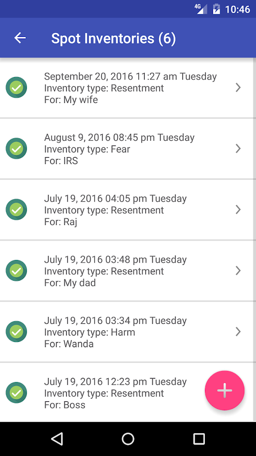 NA 12 Step App - Narcotics Anonymous- screenshot