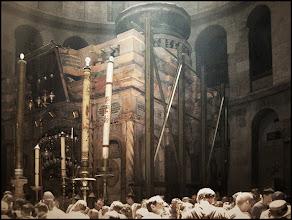 Photo: Иерусалим. Кувуклия - часовня над Гробом Господним.