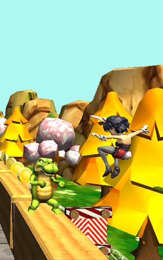 Télécharger Gratuit Teen Princess Dash - Subway Jungle Escape  APK MOD (Astuce) screenshots 2
