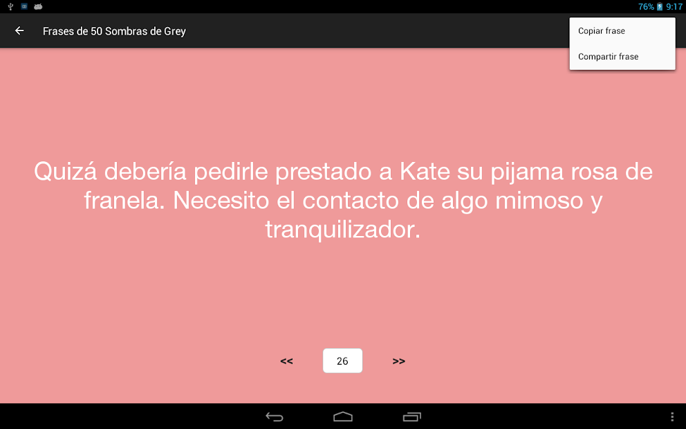 Frases De 50 Sombras De Grey On Google Play Reviews Stats