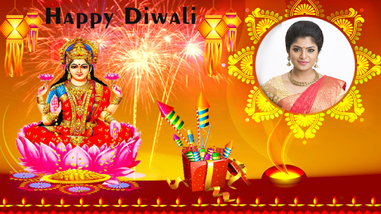 Happy Diwali Photo Frame 1