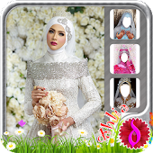 Modern Wedding Hijab