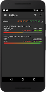Flowzr Budget Finance Expense- screenshot thumbnail