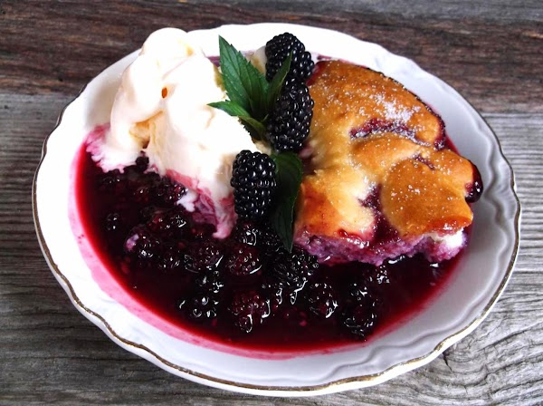 Summer In The Country Blackberry Cobbler Recipe