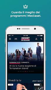 Mediaset On Demand - náhled