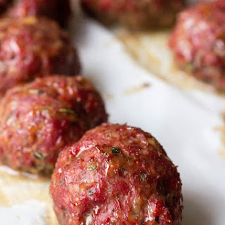Traeger Smoked Italian Meatballs Recipe