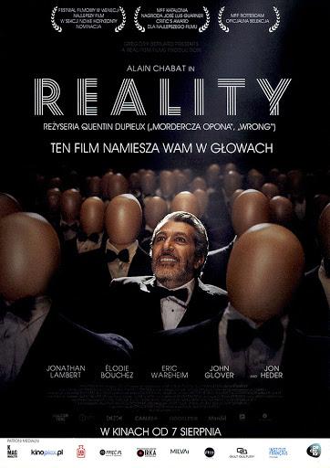 Przód ulotki filmu 'Reality'