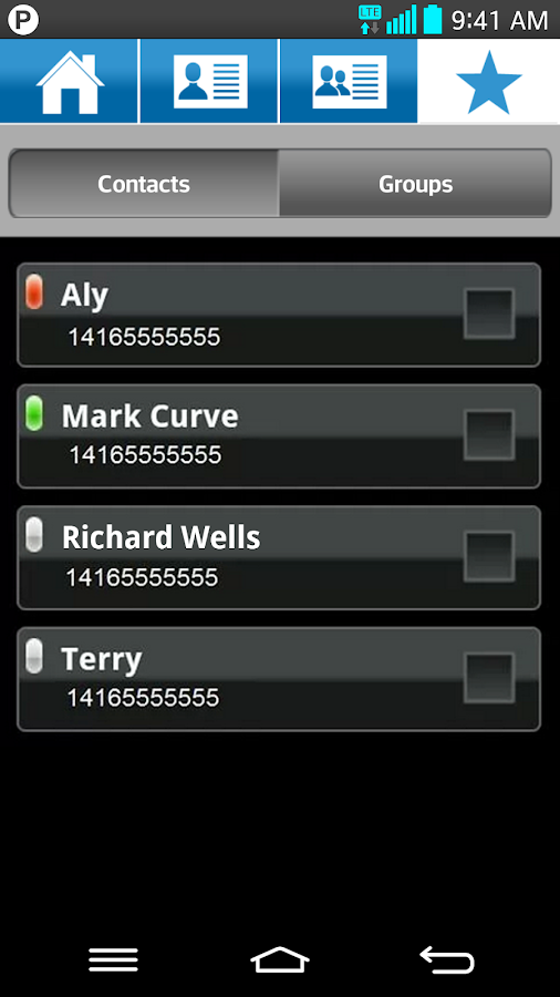 Bell Push-to-talk - screenshot