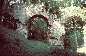 Photo: Le pont des (the bridge of the)  Granges, one of the most beautiful aqueduct bridges of the Gier aqueduct