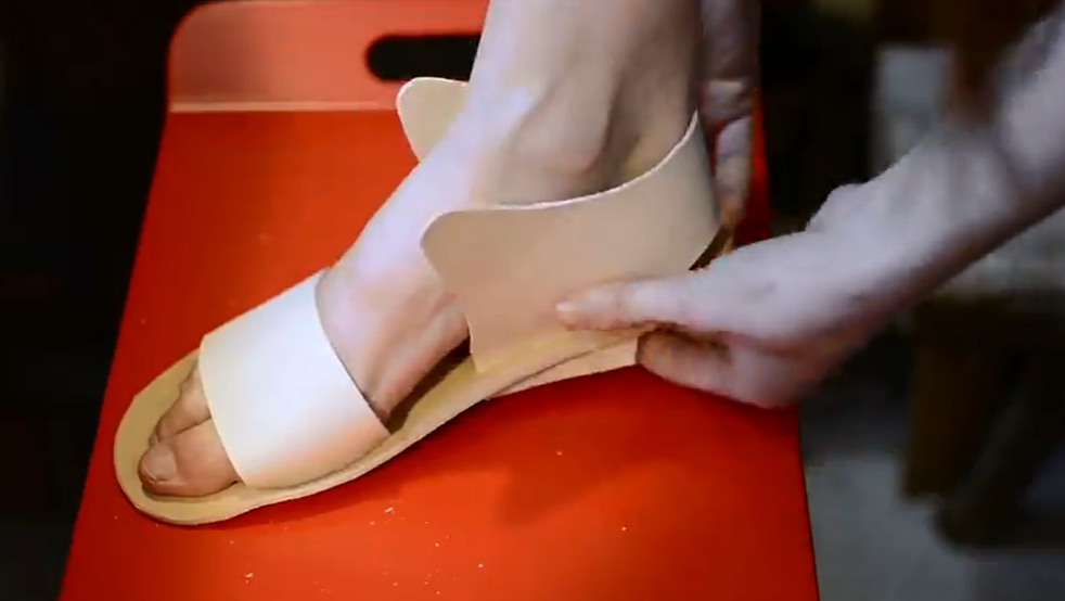 strap and heel
