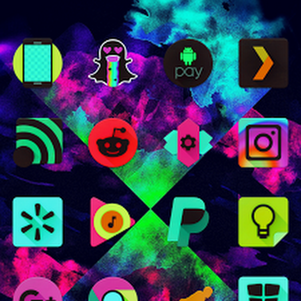 Black Light Icon Pack v1.1