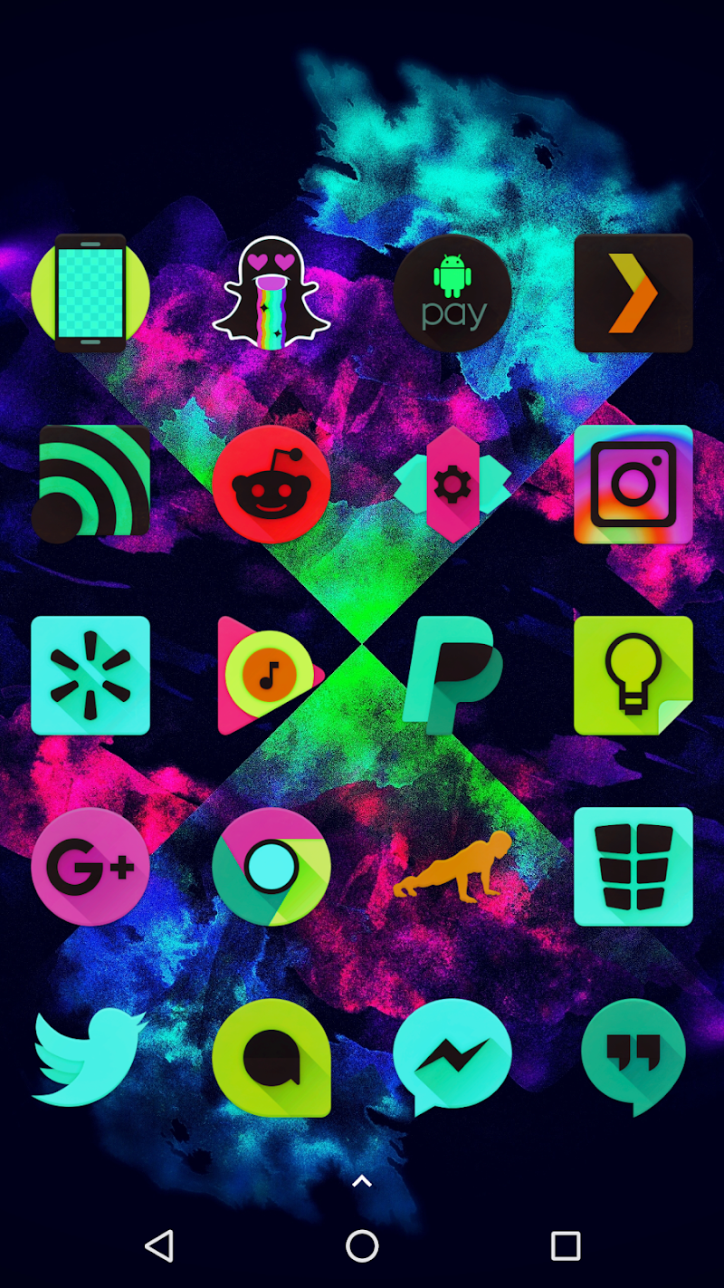 Black Light Icon Pack Screenshot 3