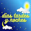 buenos dias tardes y noches gratis icon