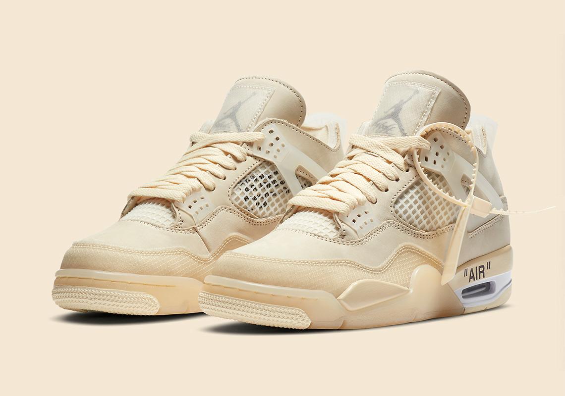 Chọn giày nike air jordan 4 off white theo hệ size giày