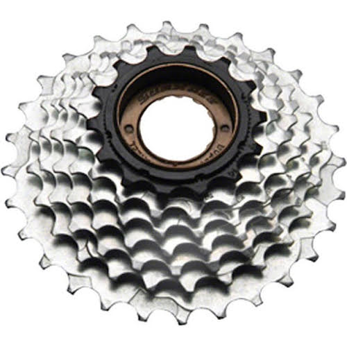 Sun Race M2A 6-speed 14-28 Freewheel Black/Zinc