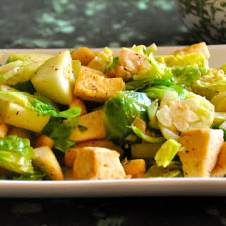 Brussel Sprouts, Apple & Tofu Delight.