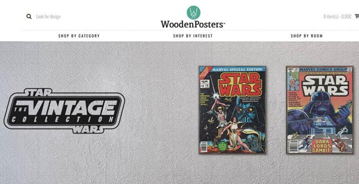 woodenposters-opencart-website