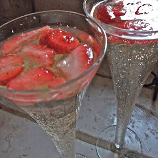 Strawberries & Champagne Punch.