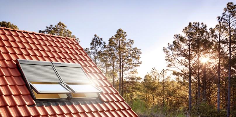 Rolety zewnętrzne VELUX zasilane solarnie (SSL)