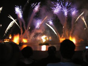Photo: Epcot firework show