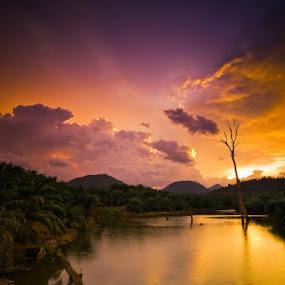 The time has come again by Johari Nasib - Landscapes Sunsets & Sunrises