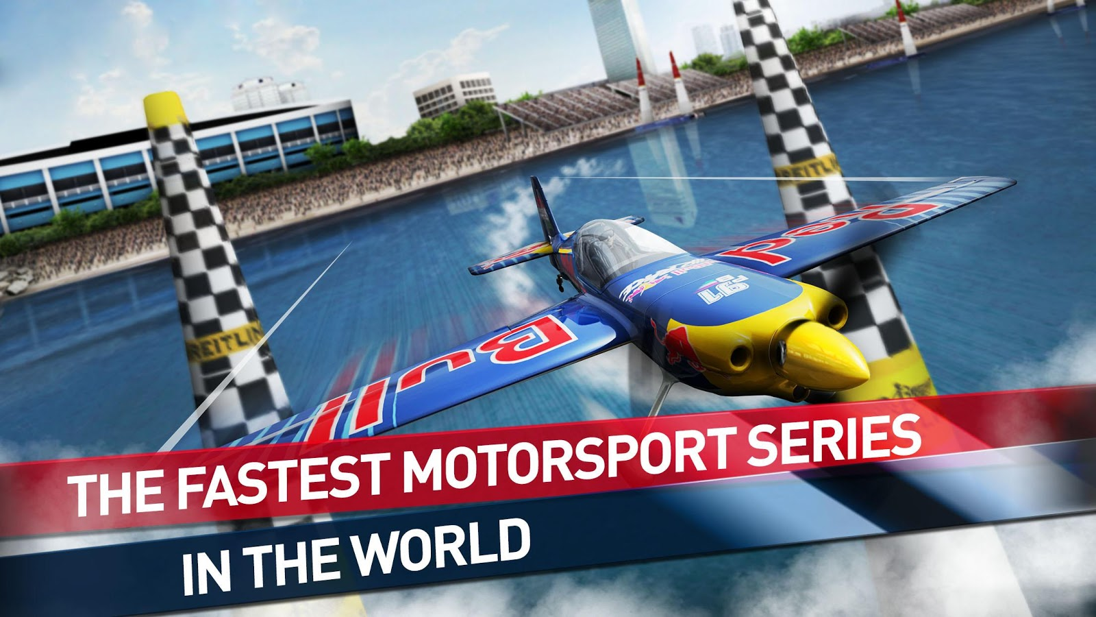Screenshots of Red Bull Air Race The Game for iPhone