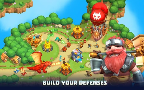 Wild Sky TD: Tower Defense in 3D Fantasy Kingdom 9