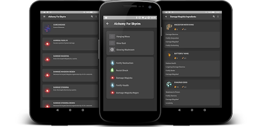 ALCHEMY FOR SKYRIM - Potion Ingredients - Apps on Google Play