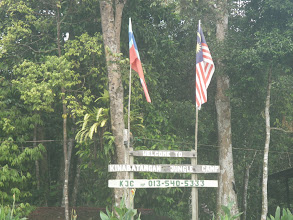Photo: Our home for the Jungle River Cruise in Malaysia on the Kinabatangan River