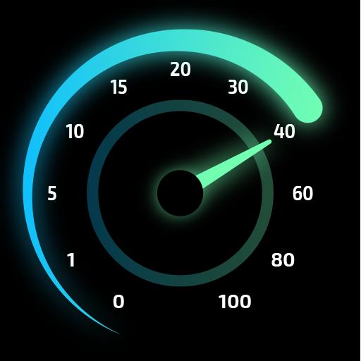 Internet Speed Test Original - wifi & 4g meter Icon