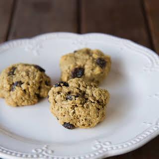 Vegan Oatmeal Cookies.