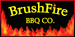 Logo for Brushfire BBQ Co - East