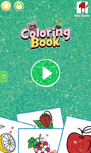 Indir Glitter Fruits Coloring And Drawing For Kids Apk Son Surumu