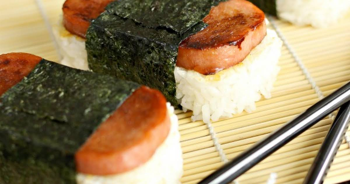 what is the sauce in spam musubi