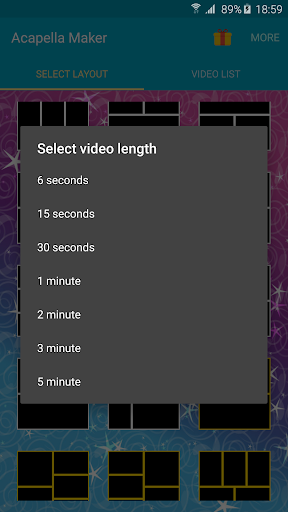 Acapella Maker - Video Collage 0.9.2 screenshots n 2