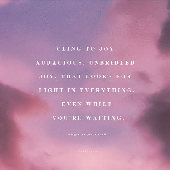 Cling to Joy - Instagram Post Template
