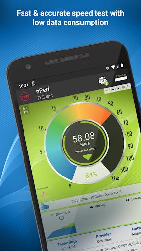 Speed test 3G, 4G, 5G, WiFi & network coverage map screenshot 1