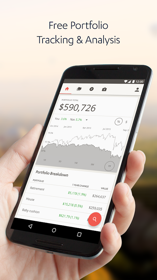 SigFig Wealth Management- screenshot