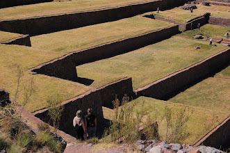 Photo: There's one more Inca site that Edgar wants us to see: Tipon