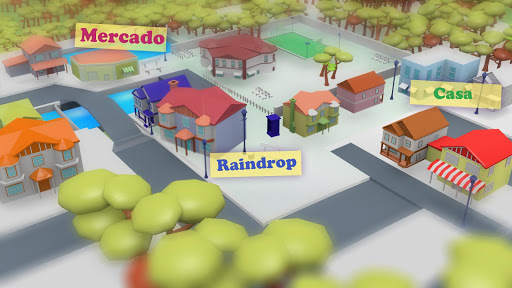 Raindrop Dance  captures d'u00e9cran 1