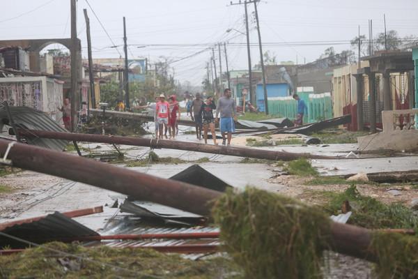 ▲▼颶風艾瑪襲擊古巴。(圖/路透社)