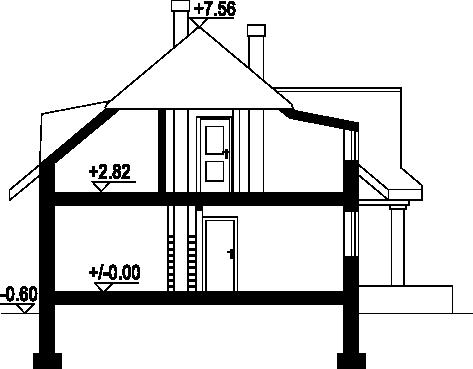 Chmielniki małe - Przekrój