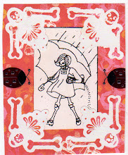 Photo: Wenchkin's Mail Art 366 - Day 257 - Card 257a