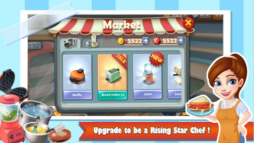 Chef Fever: Crazy Kitchen Restaurant Cooking Games  screenshots 4
