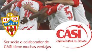 El Almería y la CASI seguirán de la mano esta temporada.