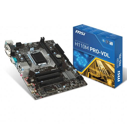 Bo mạch chính/ Mainboard Msi H110M Pro VDL