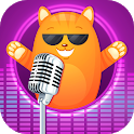 Voice changer with funny voice effects icon