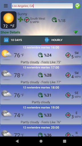 Turkey's Weather Cirrostratus screenshots 3